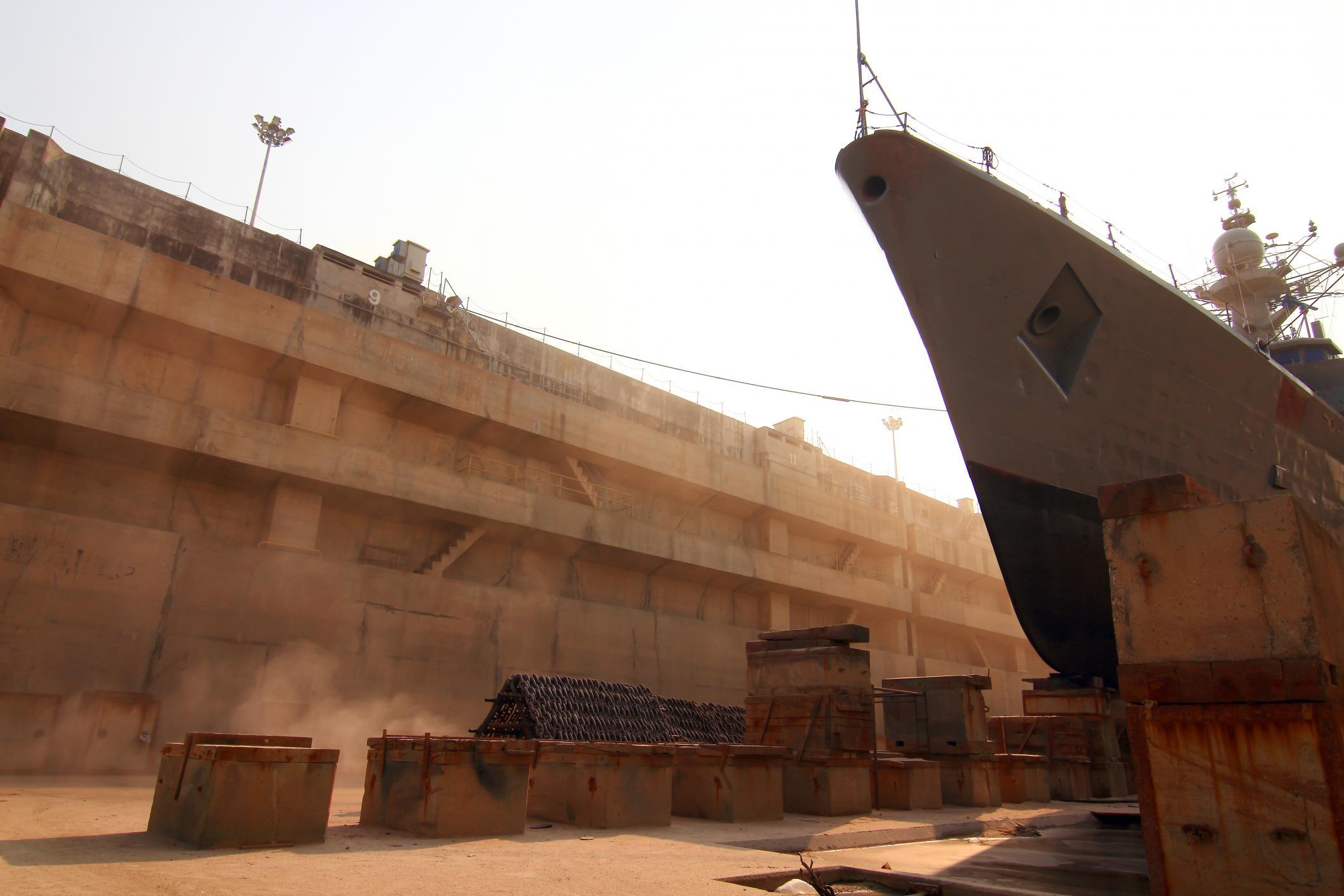 boat sandblasting job in san diego california